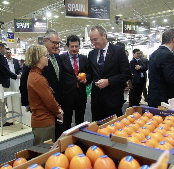 Fabra: 'Fruit Logistica es el mejor escaparate para mostrar la excelente calidad de los productos valencianos