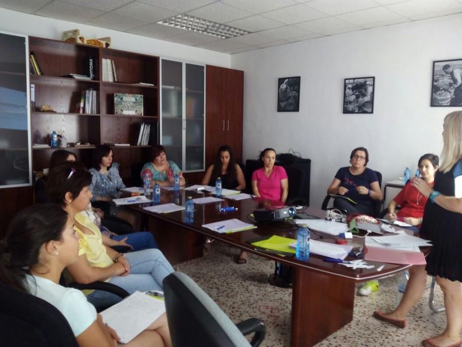 Uno de los talleres organizados durante el año 2015