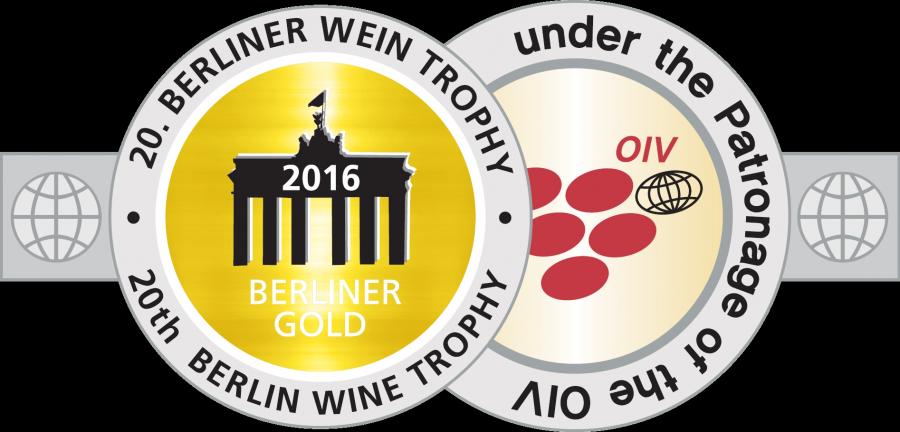 Berliner Wein Trophy 2016 - Oro