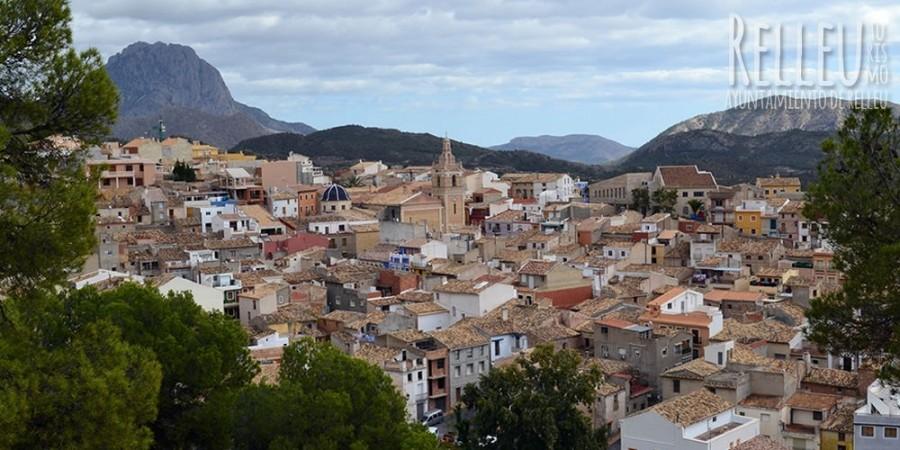 Vista del municipio de Relleu | FOTO: Turismo de Relleu
