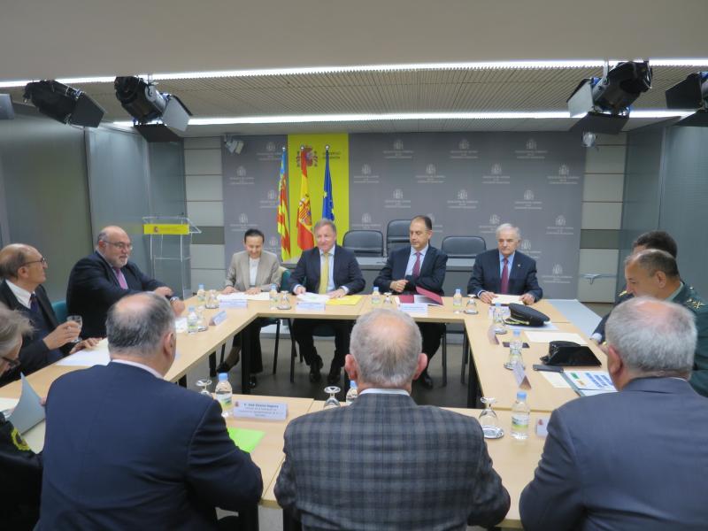 El sector agrario se reúne con el Poder Judicial, cuerpos policiales, Delegación de Gobierno y Generalitat para hablar sobre robos en campo