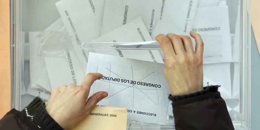 Elecciones Generales (AP Photo/Juan Manuel Serrano) (AP Photo/Juan Manuel Serrano)