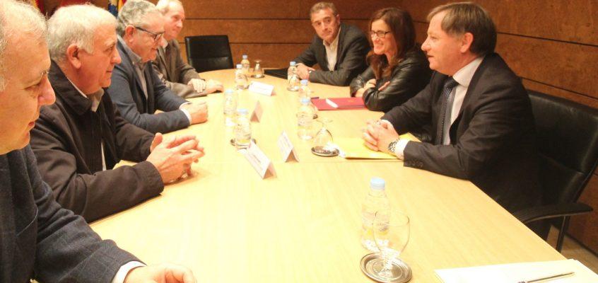 Los representantes del sector agrario se reúnen con el Delegado del Gobierno en la CV
