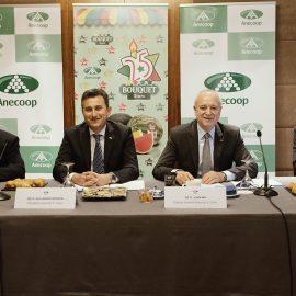 Anecoop presenta en Almería sus resultados, con crecimientos del 10,7% en facturación y el 4,8% en volumen