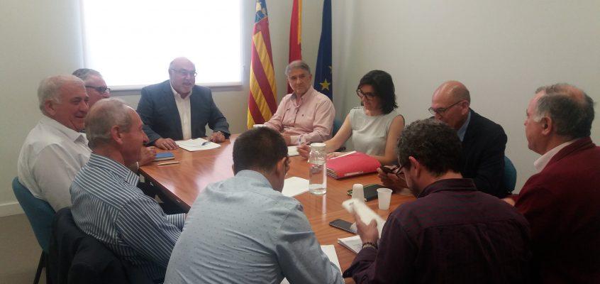 El Consell y el sector agrario instan al Ministerio a revisar la orden de reducción fiscal de los cultivos dañados por las inclemencias del tiempo