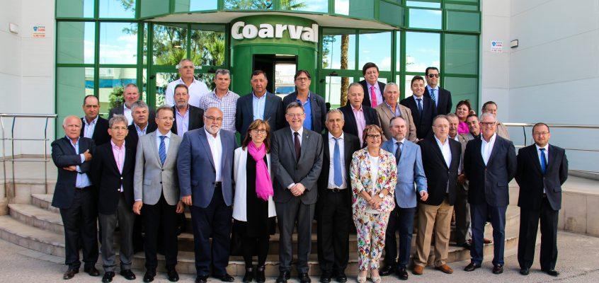 Ximo Puig inaugura la ampliación de las instalaciones de Liquimed en Picassent