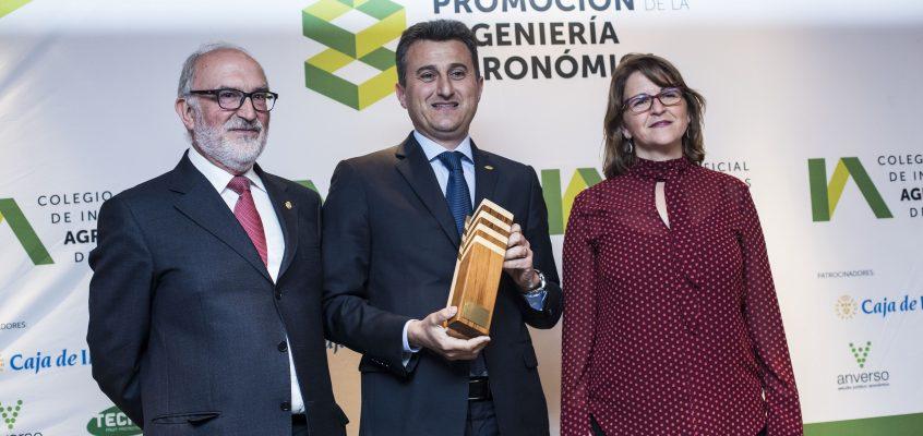 El Colegio Oficial de Ingenieros Agrónomos de Levante (COIAL) concede su premio Iniciativa y Desarrollo a Anecoop por su liderazgo