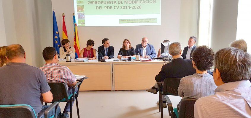 El Consell incrementa en ocho millones de euros las ayudas a jóvenes agricultores en el marco del PDR