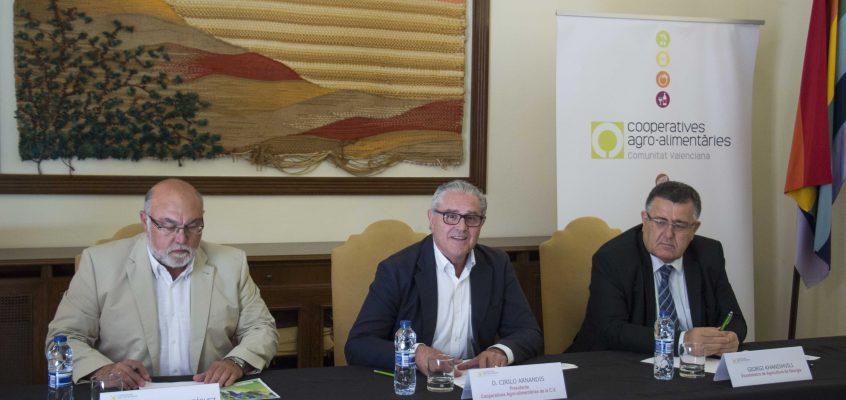 Una delegación georgiana, encabezada por su Viceministro de Agricultura, visita la Comunitat para conocer el modelo cooperativo valenciano