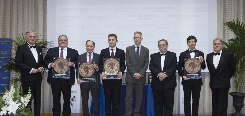 """Anecoop recoge el premio """"Ilustres 2017"""" al Mérito Empresarial"""