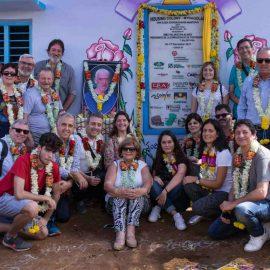 Se inaugura la aldea cooperativa construida en Anantapur en colaboración con la Fundación Vicente Ferrer
